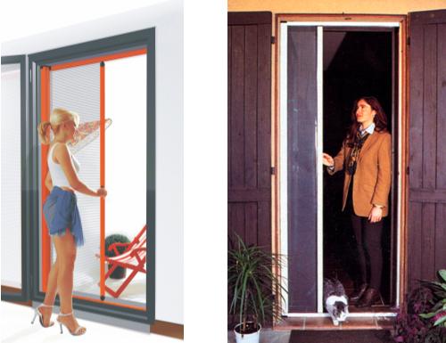 moustiquaire porte fenetre enroulable sur mesure. Black Bedroom Furniture Sets. Home Design Ideas